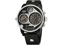 Zegarek męski Ohsen, 3 czasy, elektroniczny i wskazówkowy, kwarcowy
