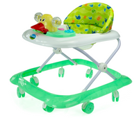Chodzik dla dziecka jeździk kaczka zielony