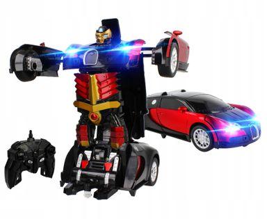 Transformers auto robot sterowany pilotem RC Z663C