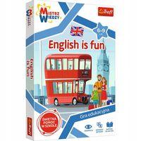 GRA MISTRZ WIEDZY ENGLISH IS FUN TREFL 01954