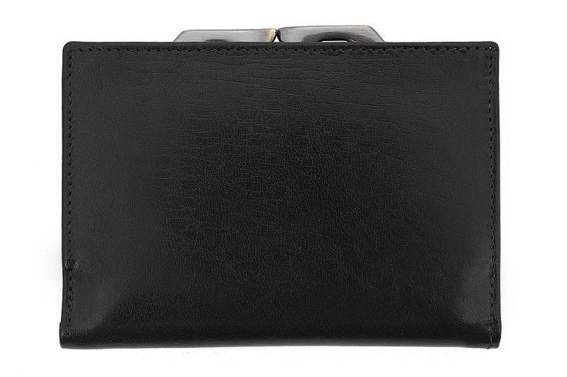 Skórzany portfel damski Orsatti D-02A w kolorze czarnym zdjęcie 2