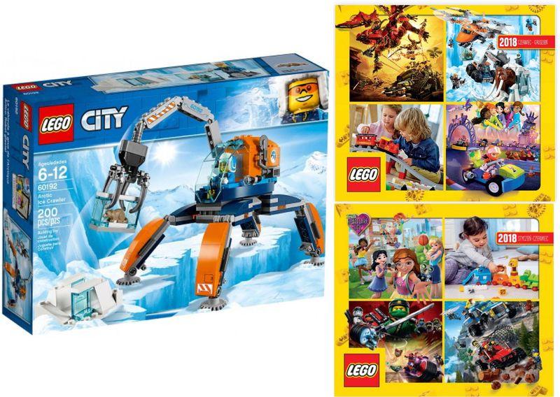 Lego City 60192 Arktyczny łazik Lodowy 2 Katalogi Arenapl