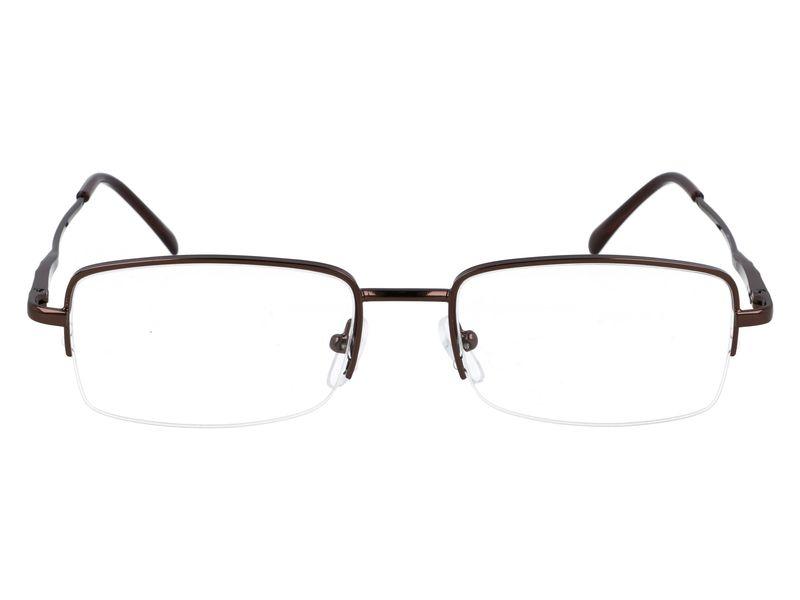 Prostokątne okulary do czytania plusy +1.00 zdjęcie 4