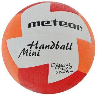 Piłka ręczna Meteor nu Age Mini 0 czerwono-pomarańczowa 4071