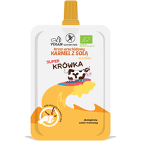 Super Krówka - Krem Arachidowy - Karmel Z Sola - Bezglutenowy 50G