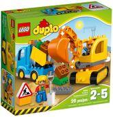 LEGO DUPLO 10812 Ciężarówka i Koparka