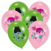 Balony TROLLS Trole lateksowe zestaw 6 sztuk