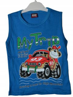 Koszulka chłopięca MyTrip, bawełna roz.98