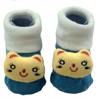 Skarpetki niemowlęce antypoślizgowe ABS bawełna PL