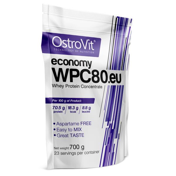 OstroVit ECONOMY WPC80.EU 700g + GRATIS! zdjęcie 1