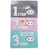 Holika Holika Pig Clear 3 - step Plastry oczyszczające na nos