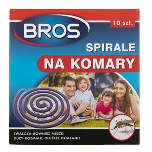 Bros Spirale na komary - 10 sztuk