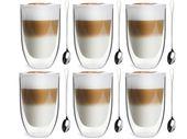 Szklanki Termiczne Podwójna Ścianka Kawa Herbata 350ml Vialli Design 6