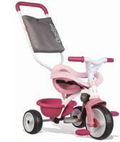 Rowerek trójkołowy Be Move Komfort różowy