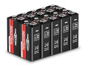 Baterie przemysłowe - alkaliczne - 9V - E-Block - 6LR61 Ansmann 1505-0001