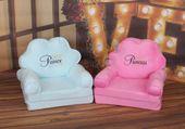 Fotelik dziecięcy pufa fotel dwa kolory