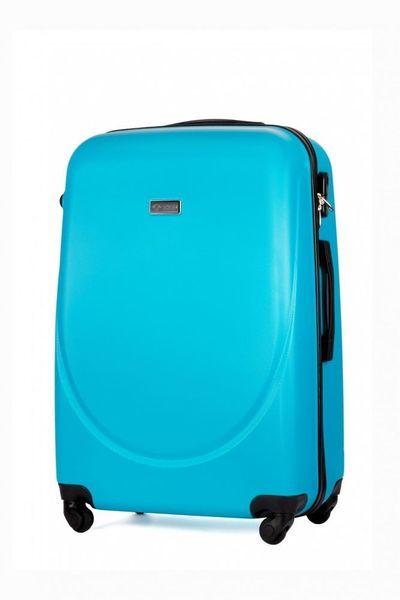 1471149c55984 Średnia walizka podróżna ABS niebieska M • Arena.pl