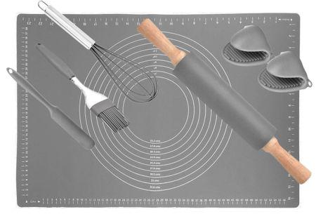 Silikonowa Stolnica 40 X 60Cm + Akcesoria 7 Ele. Brunbeste Bb-1788