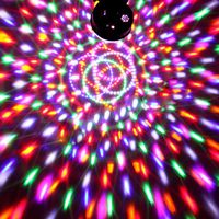 KULA DYSKOTEKOWA LED MAGIC BALL DISCO LASER +PILOT