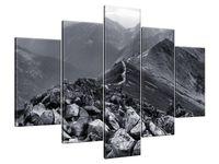 Obraz Drukowany 150x105 Widok górski  kompozycja  jedyny w swoim rodzaju