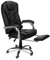 Biurowy fotel obhrotowy z podnóżkiem.Nowość 2020