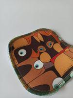Wielorazowa myjka dla dzieci - zamiast mokrych chusteczek - Ethno Pies