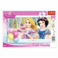 PUZZLE 15 TREFL RAMKOWE PRINCESS PRZYJĘCIE 31210
