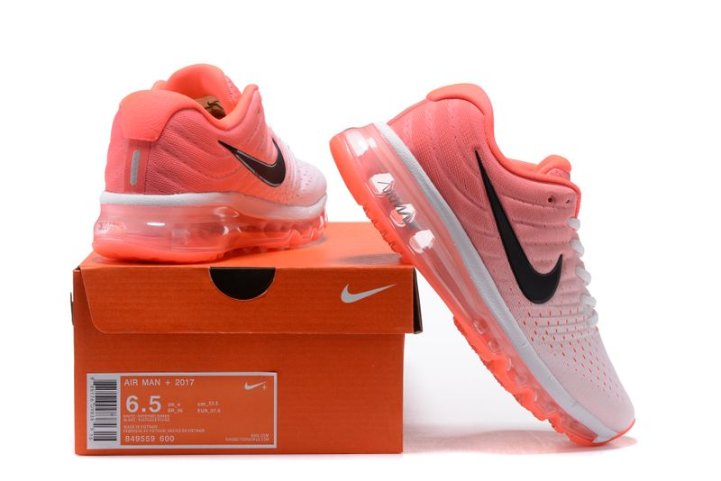 Damskie Nike Air Max 2017 Gs Różowy