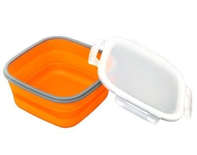 Pojemnik Lunchbox Silikonowy 1-Komorowy Tiross Ts-1414