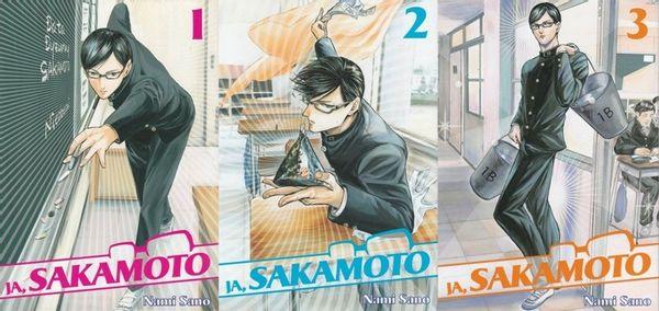 Ja Sakamoto tom 1-3 Nami Sano
