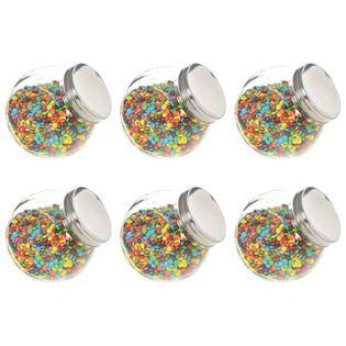 Słoiki na słodycze, 6 szt., 15,5 x 10,5 x 15 cm, 1400 ml