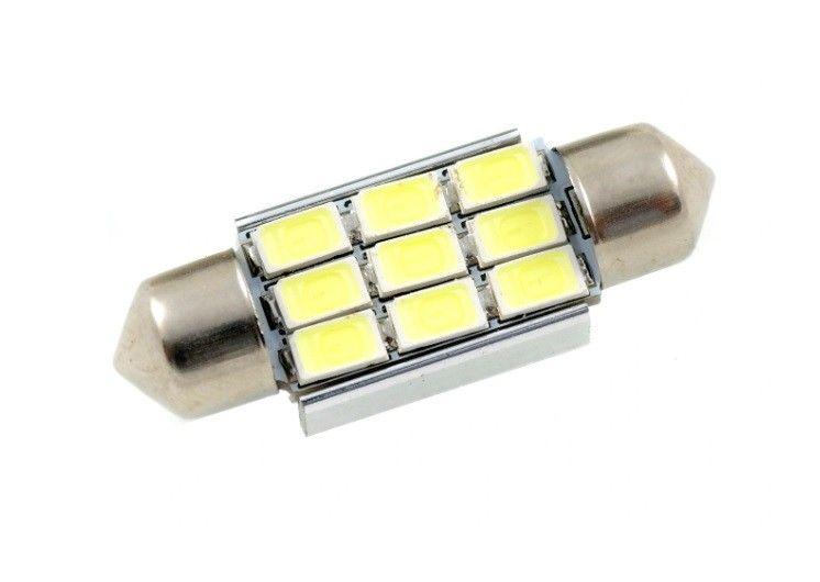Żarówka LED 9 SMD 5630 C5W C10W CAN BUS 36 mm na Arena.pl