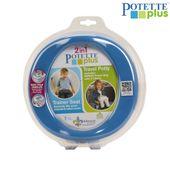 Potette Plus 2w1 NOCNIK TURYSTYCZNY NAKŁADKA WC Wybierz kolor - Niebieski