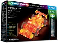 Laser Pegs Świecące Klocki 12W1 Formula Car 153El. 12011