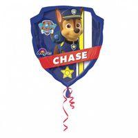 Balon foliowy Psi Patrol Chase Marshall, 63 x 68 cm