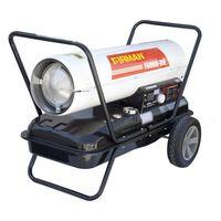 Nagrzewnica olejowa MARAX Firman F6000-DH 55,8kW z termostatem i wyświetlaczem temperatury dwa uchwyty transportowe