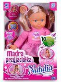 Natalia MĄDRA PRZYJACIÓŁKA Lalka Interaktywna MÓWI zdjęcie 5