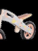 Rowerek biegowy drewniany Lionelo Casper + dzwonek - różowy