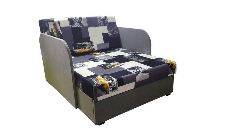 Łóżko, fotel , tapczanik dziecięcy z pojemnikiem na pościel zdjęcie 8