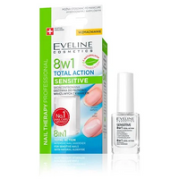 Eveline Odżywka do paznokci 8w1 Total action sensitive 12ml