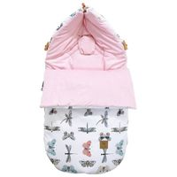 Śpiworek do wózka Wings Velvet S/M (0-1 Roku) Lanila wyprawka dla niemowląt