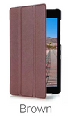 Etui Smart Cover Lenovo Tab 3 A7-10 - Brown