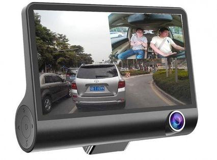 Wideorejestrator jazdy 3 Kamery FULL HD Kamera Rejestrator