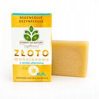 Mydło naturalne ze złotem monojonowym