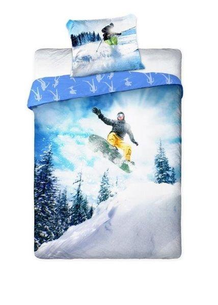Pościel Sportivo Snowboard Narty 140x200 Faro zdjęcie 1