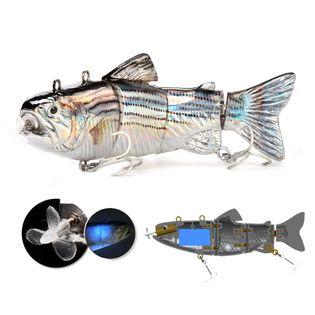 Elektryczny żywiec - rybka  - przynęta wędkarska - model Slim 8-02