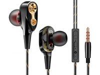 Słuchawki douszne z mikrofonem minijack 3,5mm K799II