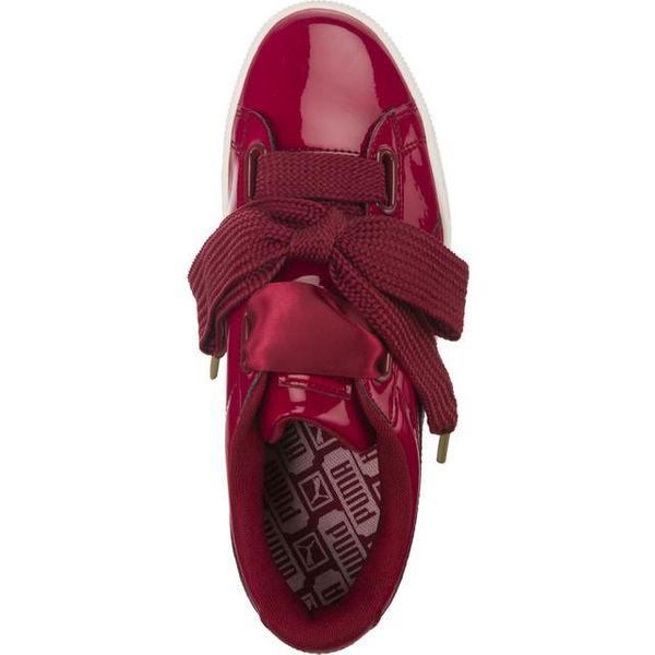 BUTY PUMA BASKET HEART PATENT WN 305(36307305) 35,5 Tibetan Red