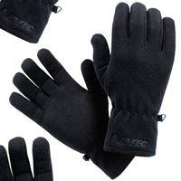 Rękawiczki zimowe Hi-TEC SALMO męskie czarne S/M