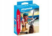 Pirat z armatą figurka Palymobil 5378 Special Plus